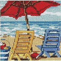 """Dimensions Spiaggia sedia Duo Mini Needlepoint Kit-5""""X 5"""""""