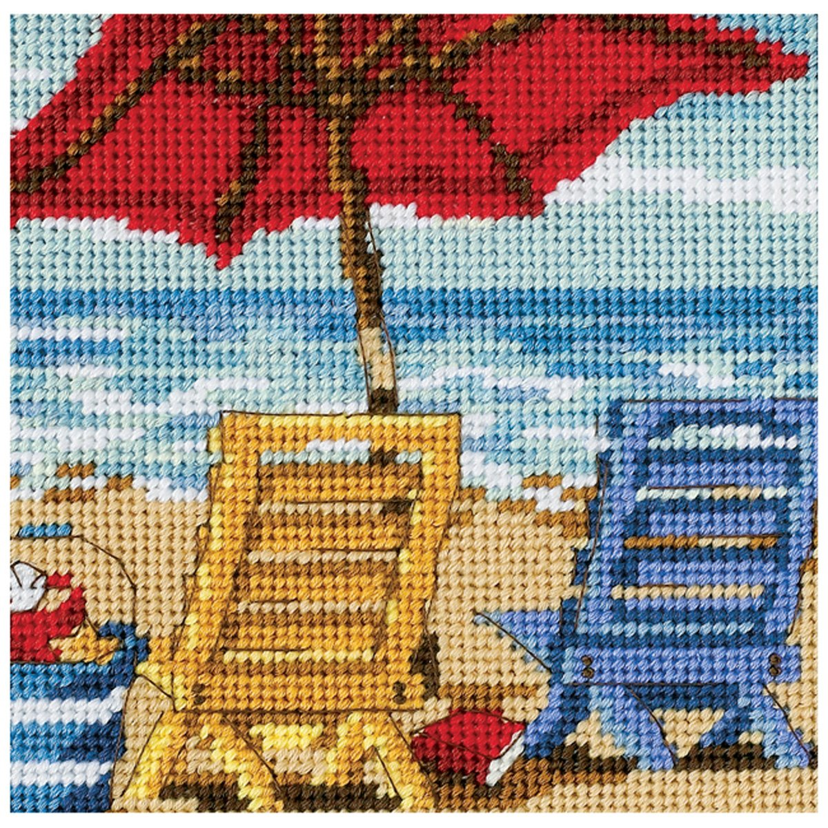 Dimensions Needlecrafts 7214 Needlepoint, Koi Pond DiMarzio 07214