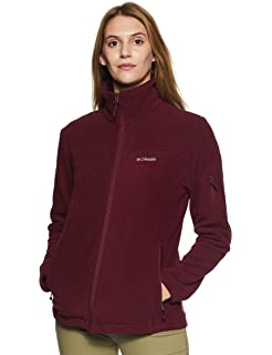 53aac353a9e Columbia Women s Plus-Size Fast Trek II Full-Zip Fleece Jacket at ...