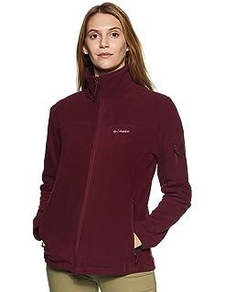 42f1c68be3c Columbia Women s Fast Trek II Full Zip Fleece Classic Fit Jacket at ...