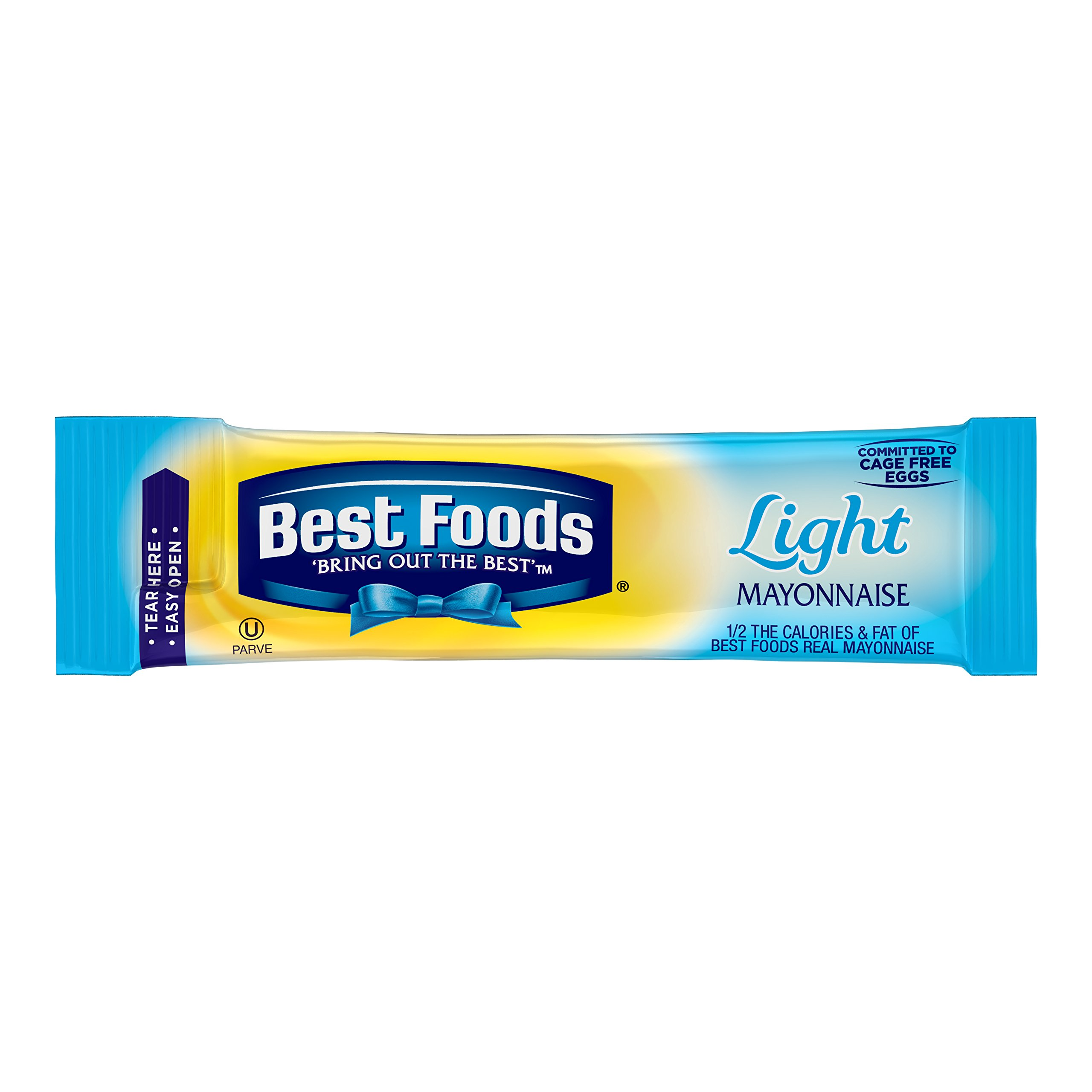 Best Foods Mayonnaise Stick Packets Light 0.38 oz 210ct by Best Foods
