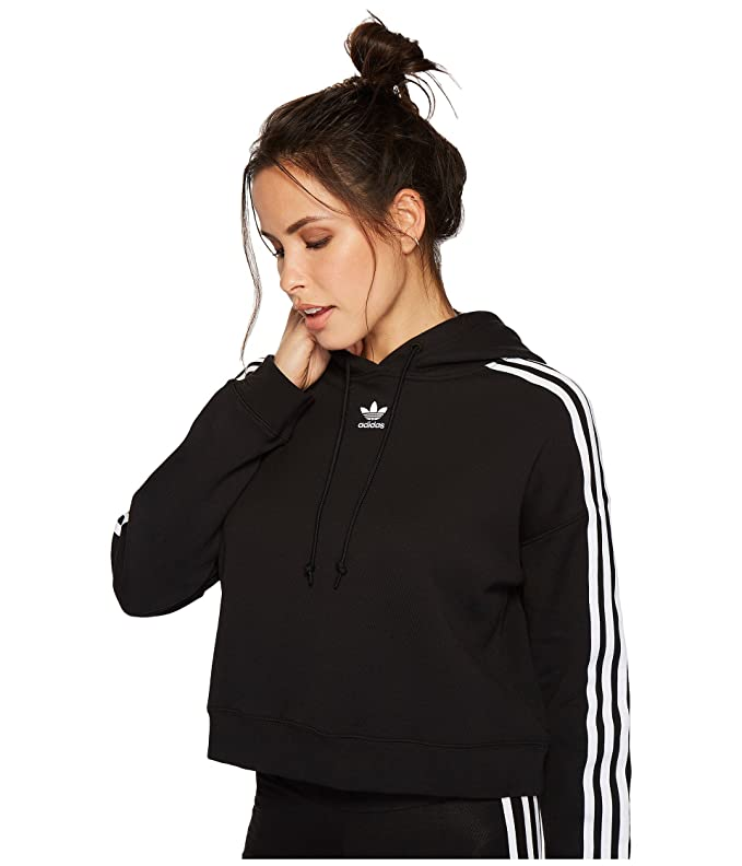 a8354dbf5e2 adidas Originals Women's Cropped Hoodie at Amazon Women's Clothing store:
