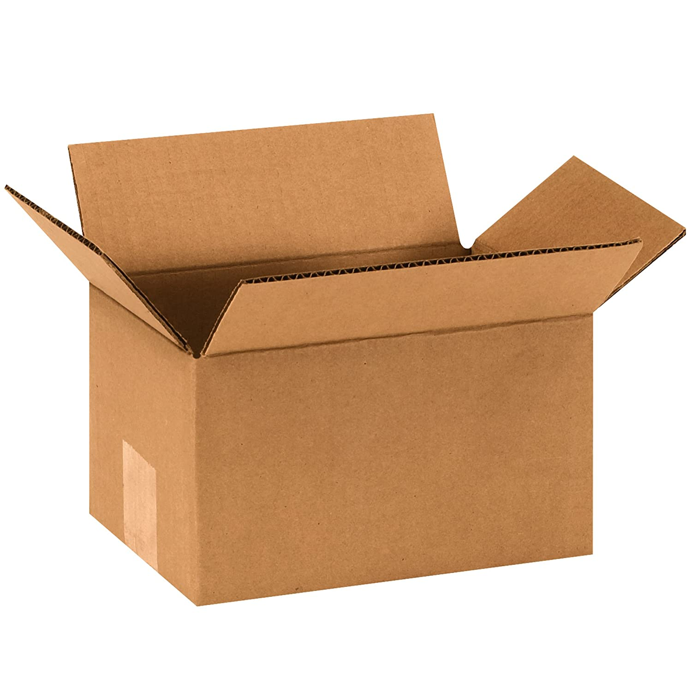 Pack of 25 BOX USA B965 Corrugated Boxes Kraft 9L x 6W x 5H