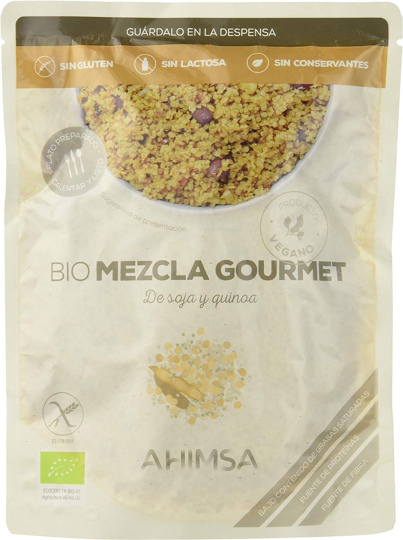 Ahimsa, Plato de verdura envasado (Soja y quinoa) - 6 de 250 ...