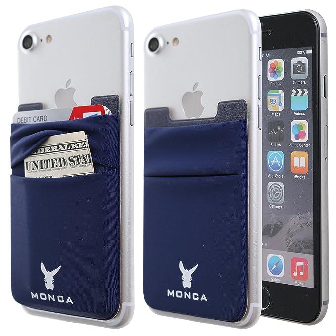 Amazon.com: Monca - Soporte para tarjetas de crédito (doble ...