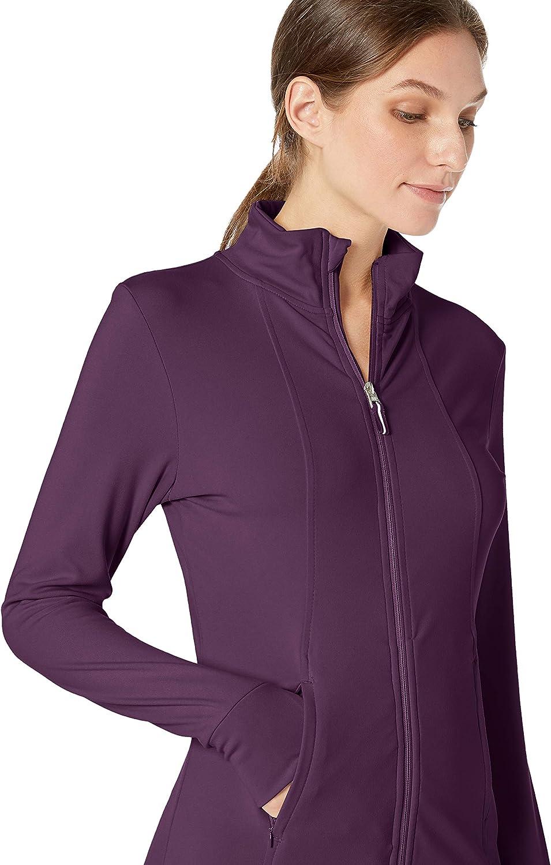 Jockey Damen Active Lightweight Mock Neck Zip Up Jacket