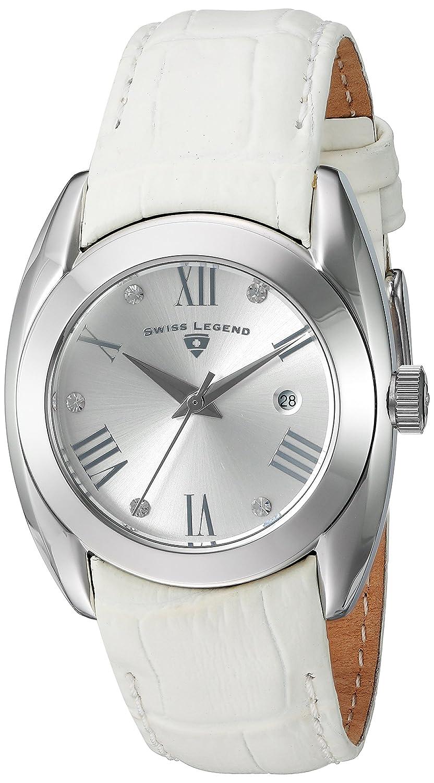 Swiss Legend Damen-Armbanduhr SL-10550-02S-WHT