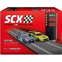 Scalextric- Accesorio Gestor de Carreras, Cuentavueltas y Semáforo, Color Negro (1)