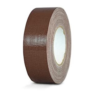MAT Duct Tape Dark Brown Industrial Grade - 2 in. x 60 yds. - Waterproof, UV Resistant for Crafts, Home Improvement, Repairs, Projects (Available in Multiple Colors)