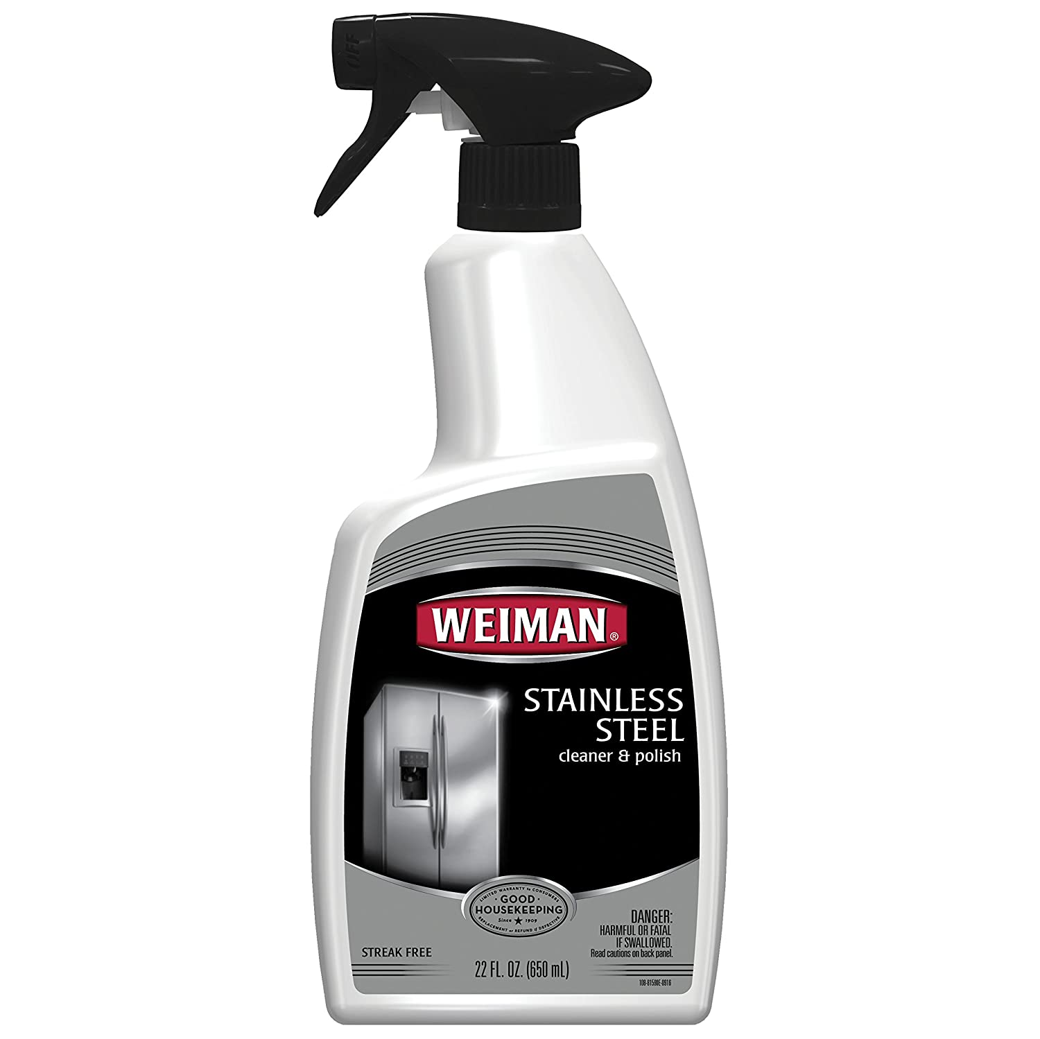 Amazoncom Weiman Stainless Steel Cleaner and Polish StreakFree