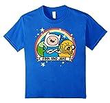Kids CN Adventure Time Finn & Jake Rainbow Banner