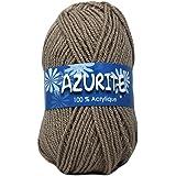 Distrifil - Pelote de laine à tricoter AZURITE - Distrifil - Marron 512