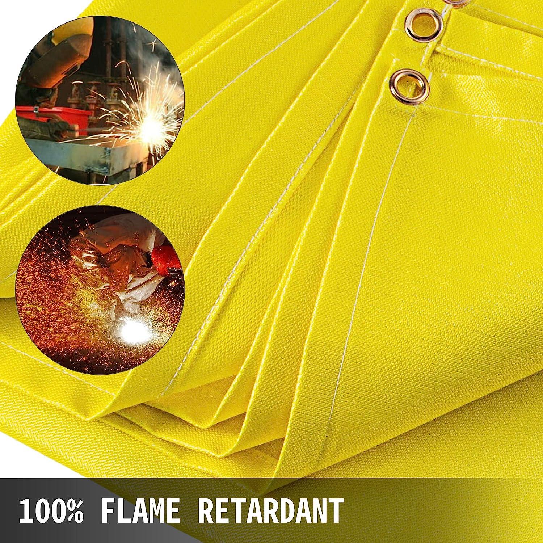Couverture en fibre de verre de soudure 6 x 10 PI Ignifugation soudure