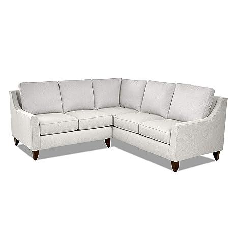 Sensational Amazon Com Casual Style Sectional Sofa Fabric Upholstery Spiritservingveterans Wood Chair Design Ideas Spiritservingveteransorg
