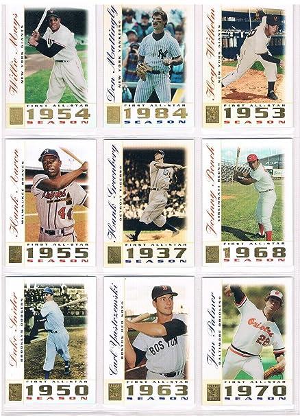 2003 Topps Tribute Baseball Perennial All Star Complete Set