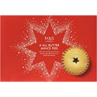 M&S 6x All Butter Mince Pies - Traditional Christmas Food
