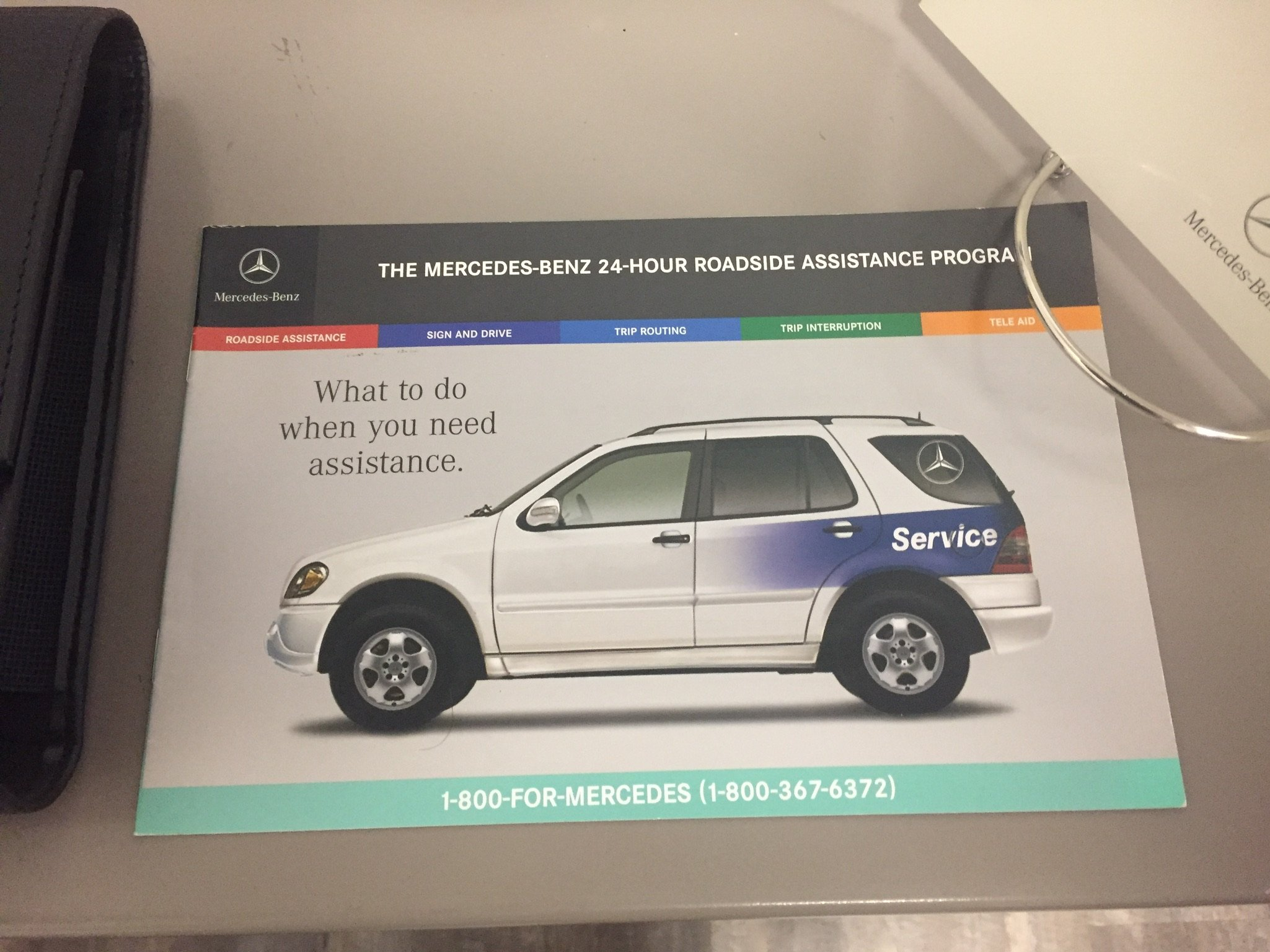 MERCEDESBENZ E E E AMG OWNERS MANUAL SET Mercedez - Mercedes benz 24 hour roadside assistance