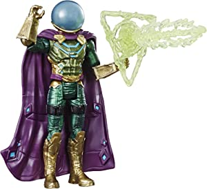 "Spider-Man: Far from Home Marvel's Mysterio 6""-Scale Villain Action Figure Toy – Ages 4 & Up"