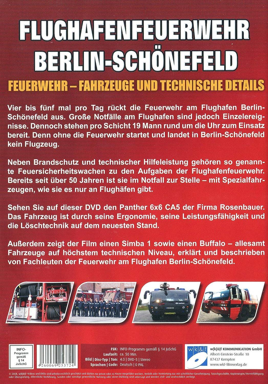 Amazon Com Feuerwehr Flughafenfeuerwehr Berlin Schonefeld Dvd