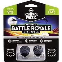 KontrolFreek FPS Freek Battle Royale Nightfall para XBOX One | Performance Thumbsticks | 2 sticks con gran altura convexos | Negro