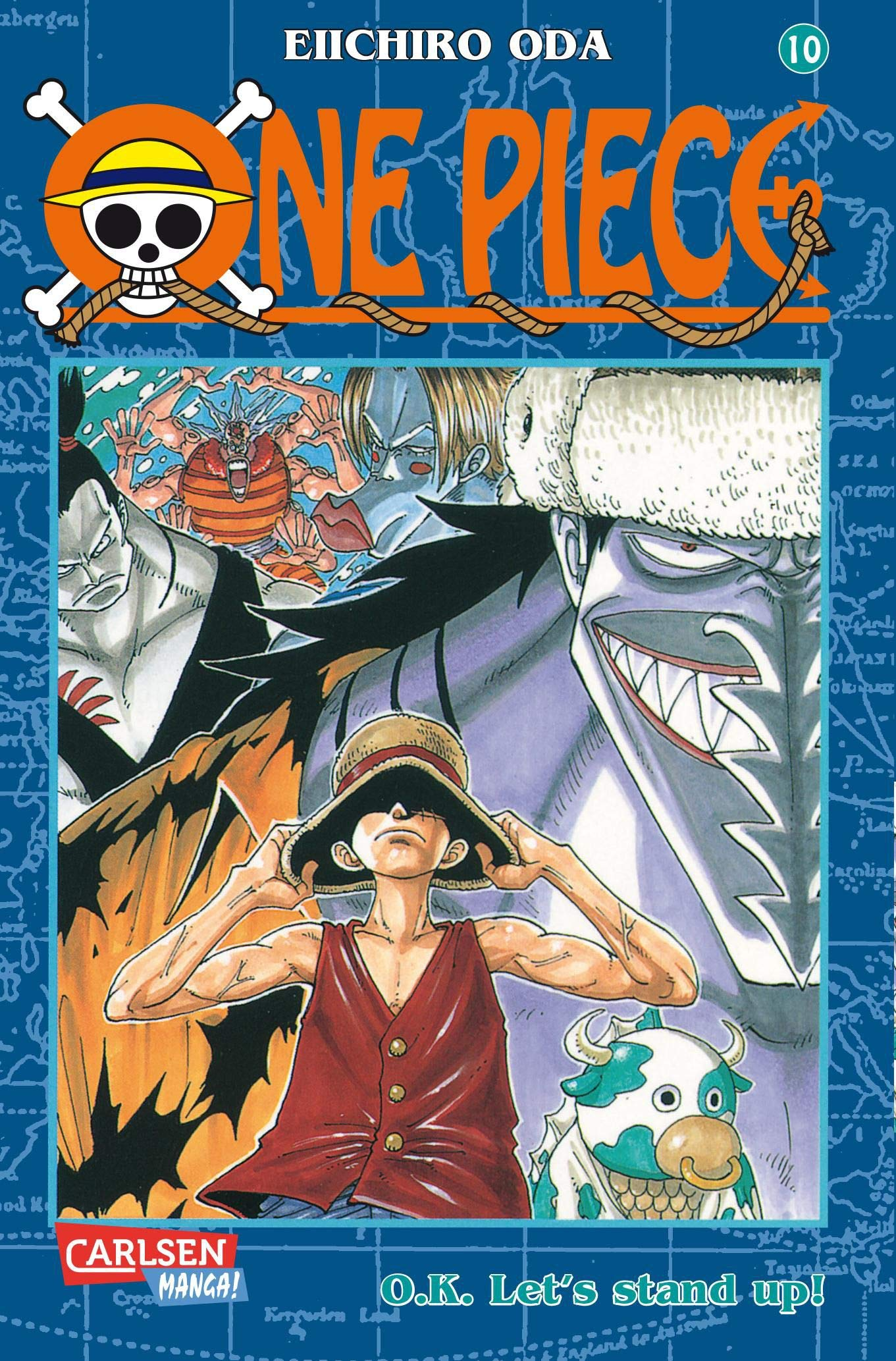 One Piece Band 10  O.K. Let's Stand Up