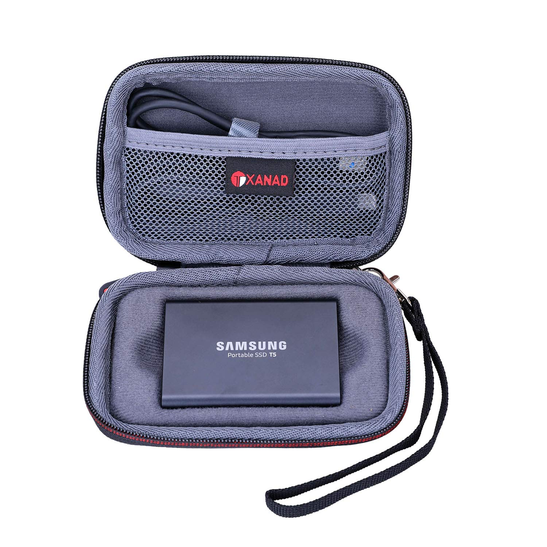 XANAD - Funda rígida para Samsung T3/T5 SSD portátil de 250 GB 500 ...