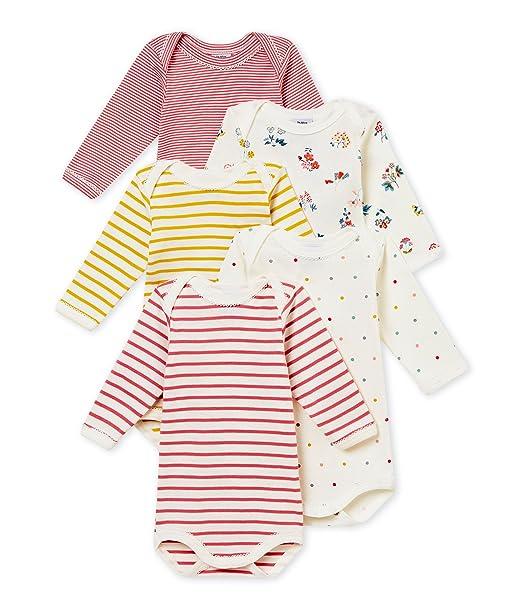 Petit Bateau Conjunto de Ropa Interior para Bebés (Pack de 5): Amazon.es: Ropa y accesorios