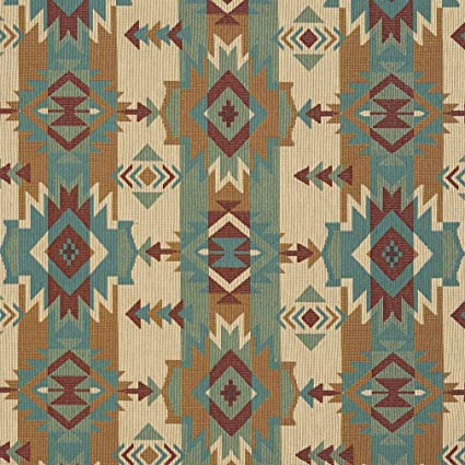 Amazon Com J9600f Natural Striped Geometric Southwest Woven