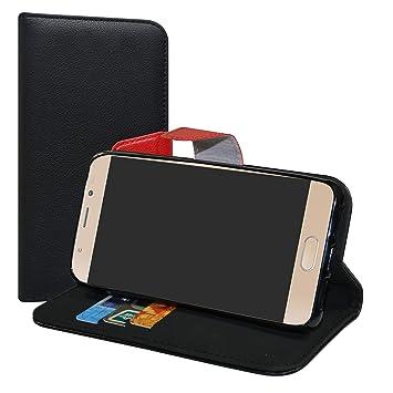LiuShan Wiko Ufeel Prime Funda, PU Cuero Book Style Billetera Cartera Monedero con Soporte Funda Caso para Wiko Ufeel Prime Smartphone(con 4 en 1 ...