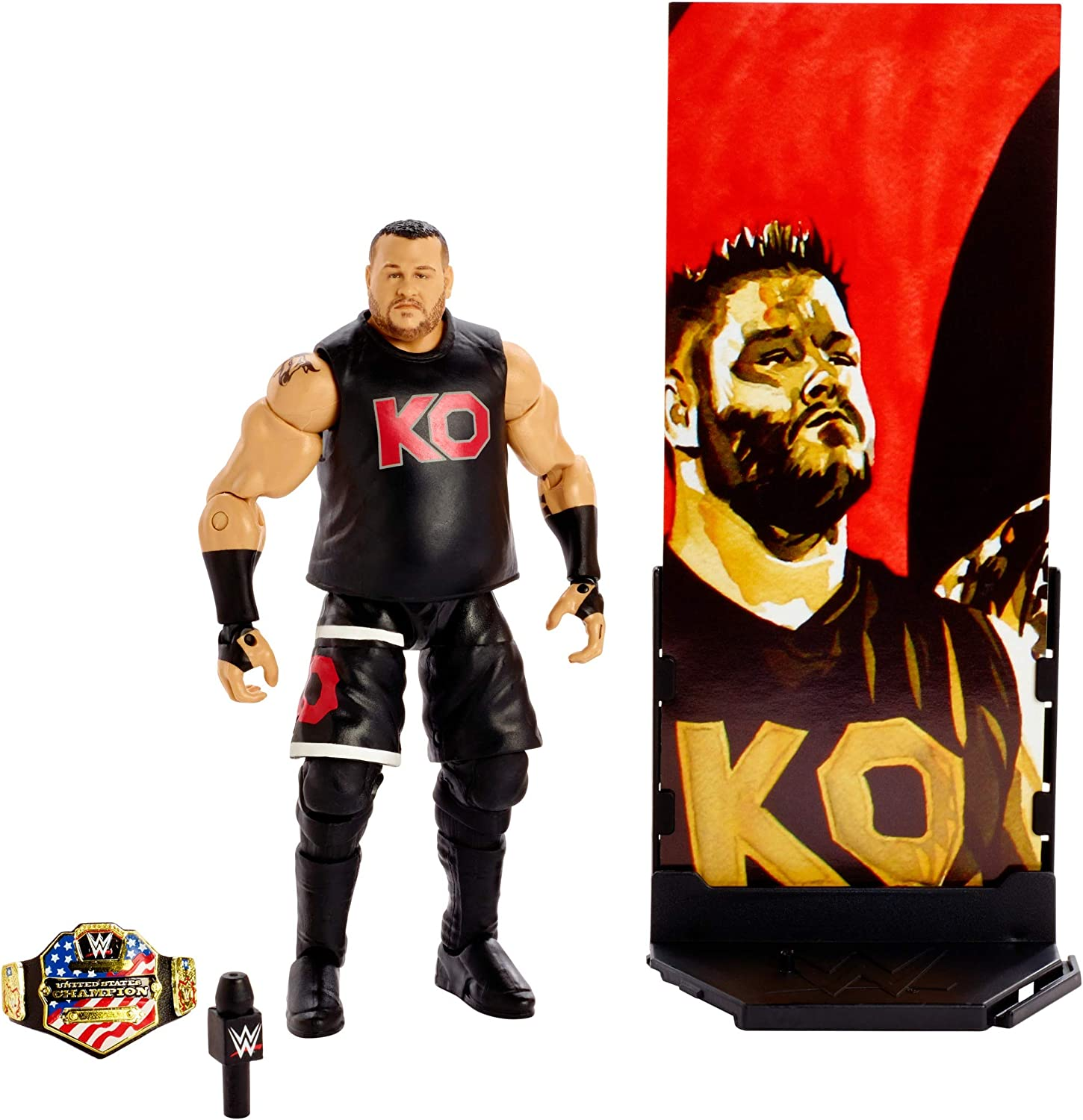WWE Elite Collection Series 66 Kevin Owens Wrestling Action Figure New