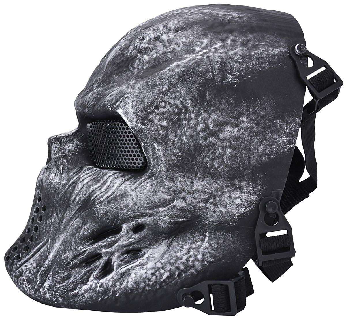 Coofit Airsoft Skeleton Skull Full Face Protector Mask M06 Silber ...