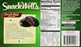 SnackWell's Devil's Food Cookie Cakes, 6.75 oz