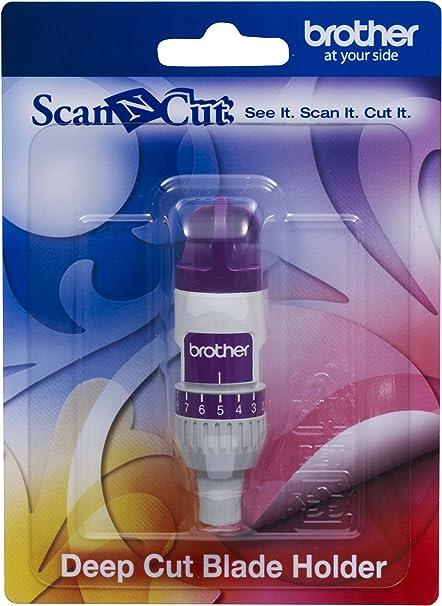 Brother CAHLF1 Scan-N-Cut - Soporte para Cuchilla de Corte Profundo, Color Blanco: Amazon.es: Informática