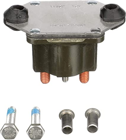 Ignition Solenoid for Mercury /& Mercruiser 89-817109A2 817109A2 89817109A2