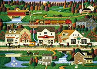 product image for Buffalo Games - Charles Wysocki Americana Collection - Yankee Wink Hollow - 500 Piece Jigsaw Puzzle