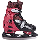 SPOKEY® PEEWEE Children's Ice Skates | Hockey blades | Stainless steel | Adjustable size | 29-32 33-36