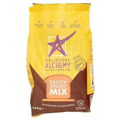 Delicious Alchemy - Mezcla de Pan Integral Sin Gluten 340g ...
