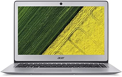 Acer Swift SF314-52 14-inch Laptop (Core i3-7100U/4GB/256GB SSD/Linux/Intel  HD Graphics 620 Graphics), Silver