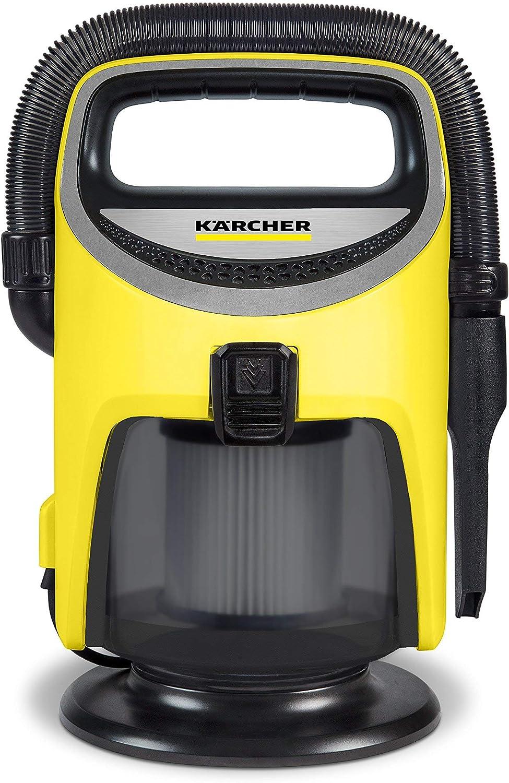 Karcher TV 1 Indoor Wet/Dry Vacuum, Yellow (Renewed)