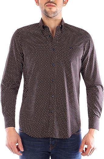 Harmont&Blaine Camisa marrón: Amazon.es: Ropa y accesorios