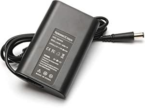 Laptop Charger 65W AC Adapter for Dell Inspiron 13 14 15 17 3000 5000 7000 Series 1545 N5110 1525 5537 N4110 N7010 N5050 1564 3421 5423 3521 N4010 3520 3542 5521 M731R Studio 1440 Supply Power Cord