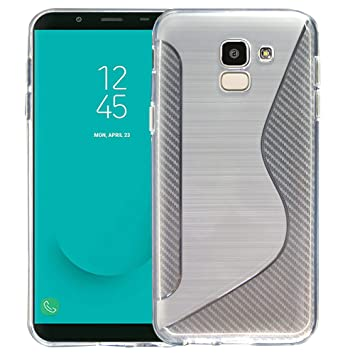 PIXFAB - Carcasa de Silicona para Samsung Galaxy J6 2018 SM ...