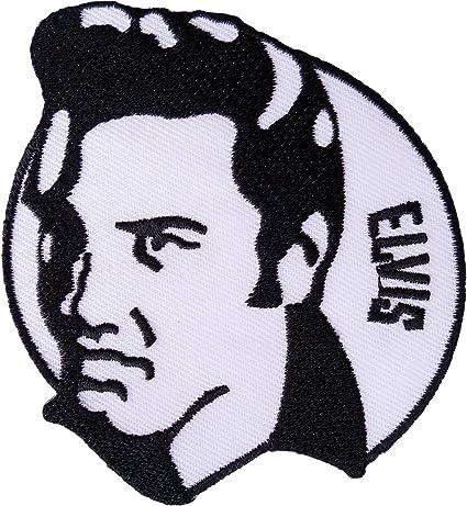 Parche de Elvis Presley para planchar o coser en chaqueta, pantalones vaqueros, camiseta, bolsa bordada