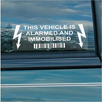 Amazon.com: 10 x Vehículo inmovilizador de alarma y ...