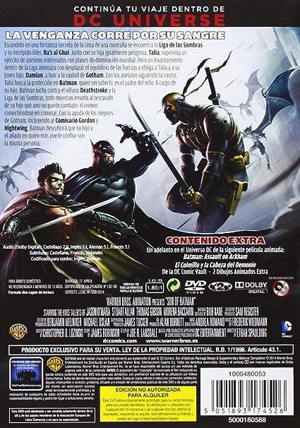 El Hijo De Batman [DVD]: Amazon.es: Ethan Spaulding: Cine y ...