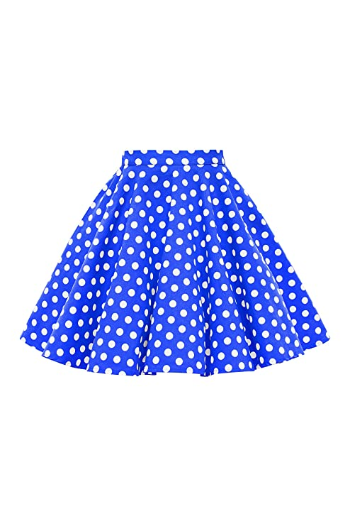 Kids 1950s Clothing & Costumes: Girls, Boys, Toddlers BlackButterfl 50s Full Circle Girls Swing Skirt $25.99 AT vintagedancer.com