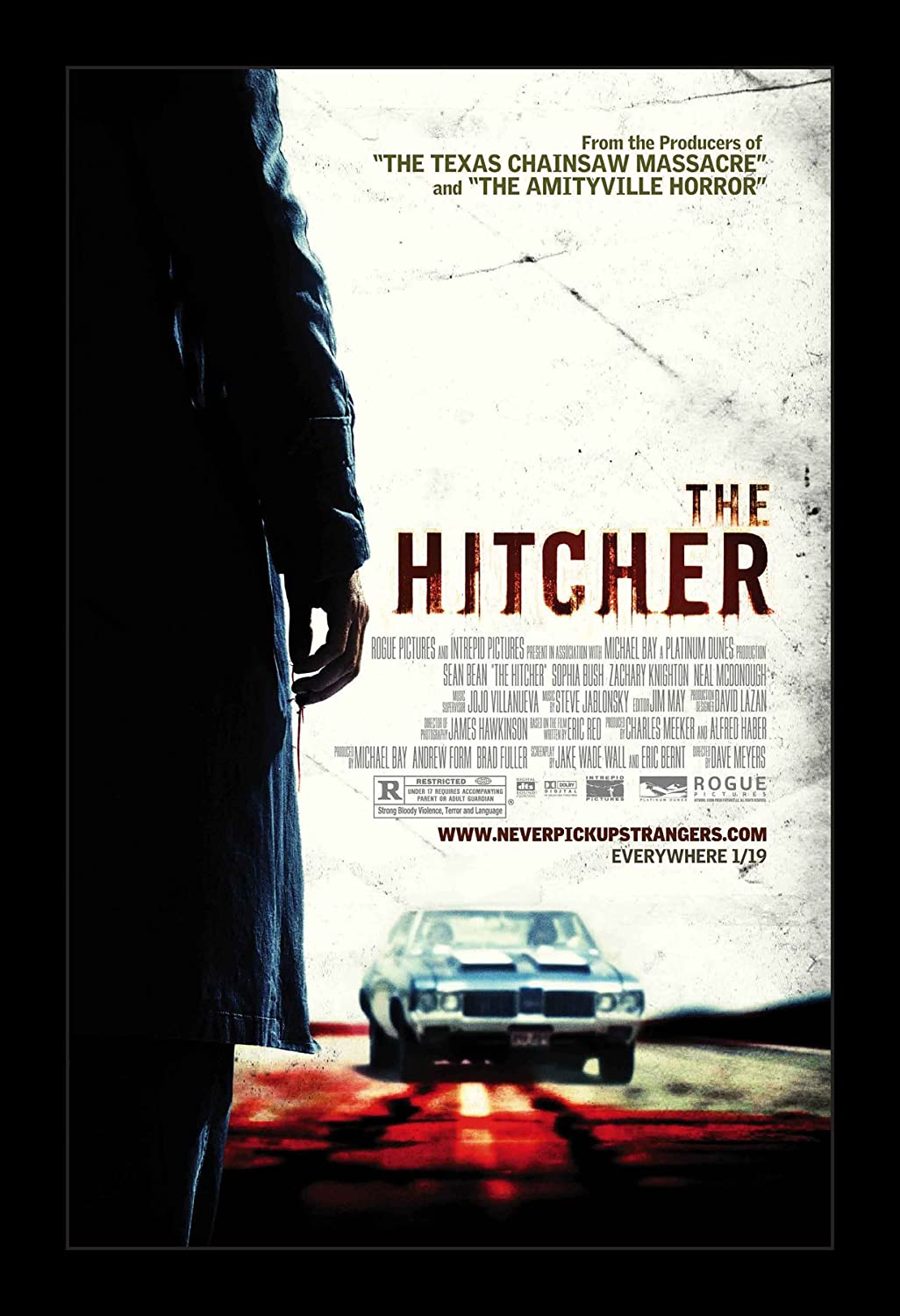 The Hitcher - 11x17 Framed Movie Poster by Wallspace