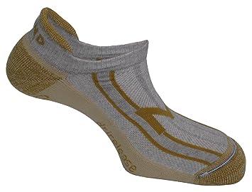 MUND Invisible Rizo Dri Release - Calcetines para Hombre, Color Gris/Beige: Amazon.es: Zapatos y complementos