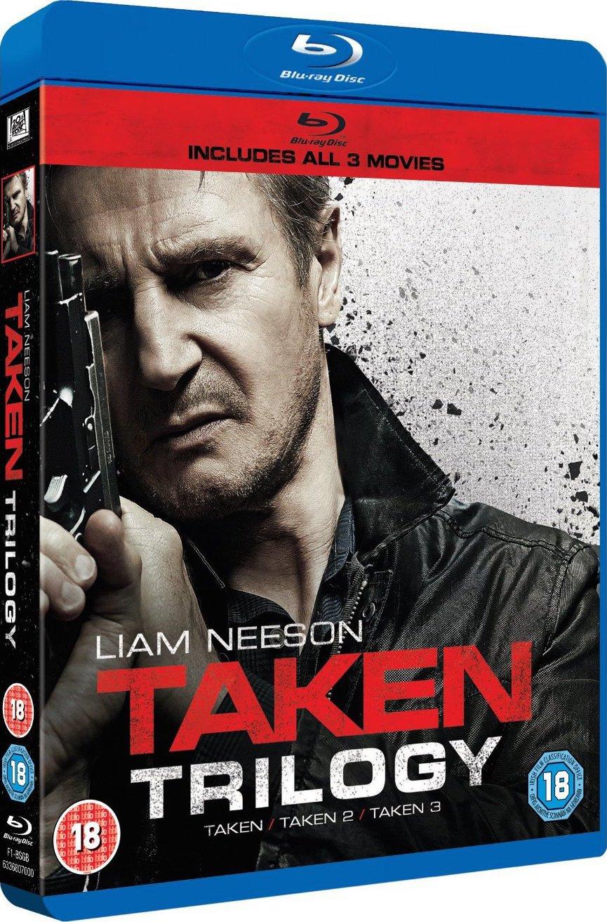 Taken Trilogy Blu Ray Taken Taken 2 Taken 3 Blu Ray Digital Hd Ultraviolet 20th Century Fox 2008 2015 3 Movies 5 Cuts 306