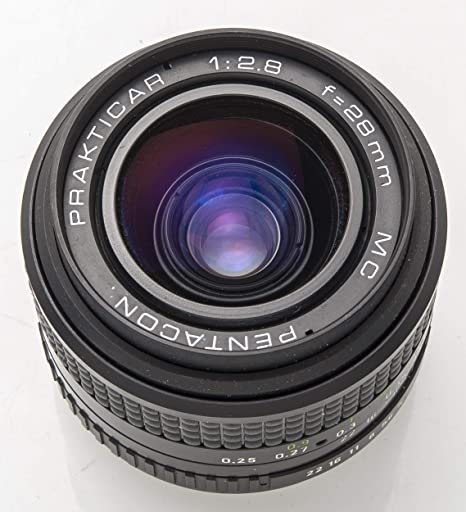 Unbekannt Pentacon Prakticar 2 8 1 2 8 28mm Mc 28 Mm Kamera